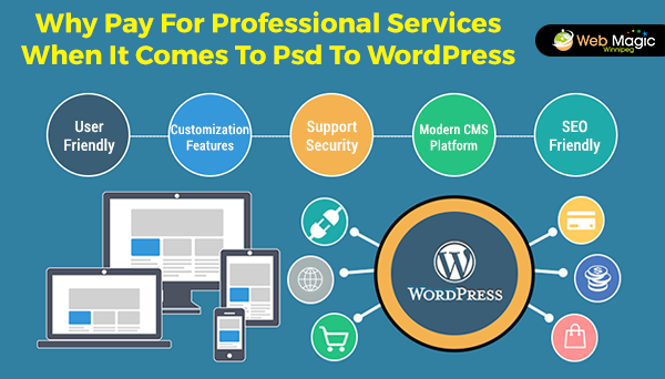 Why Pay For Professional Services When It Comes To Psd To WordPress Conversion?