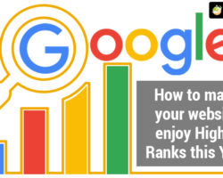 How To Make Your Website Enjoy Higher Ranks This Year